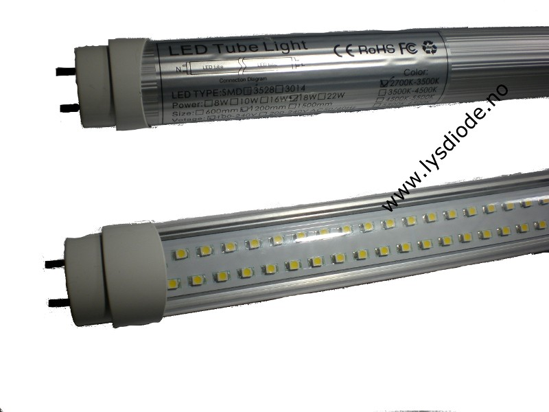 Modernistisk LED lysrør 120cm   Lysdiode, dioder, led, xenon, strobe, bil, båt VN31