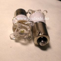 5LED hvit 16.4mm
